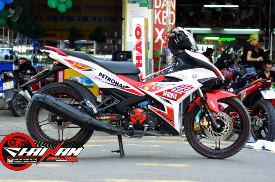 Tem Ex 150 Đỏ Trắng Petronas